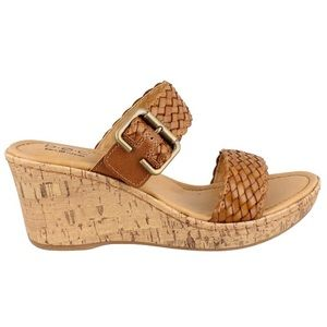 b.o.c. by Born | Chenoa Wedge Slide Sandals NWOB
